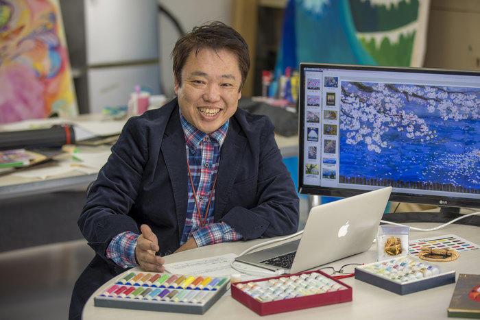 岡田教授の写真