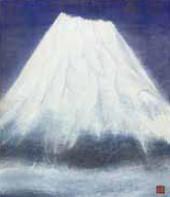 『富士』 F10号(53×45.5㎝)