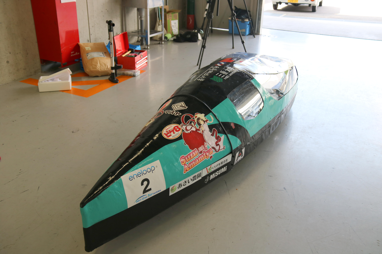 「2017 Ene-1 GP SUZUKA」に出場したマシン