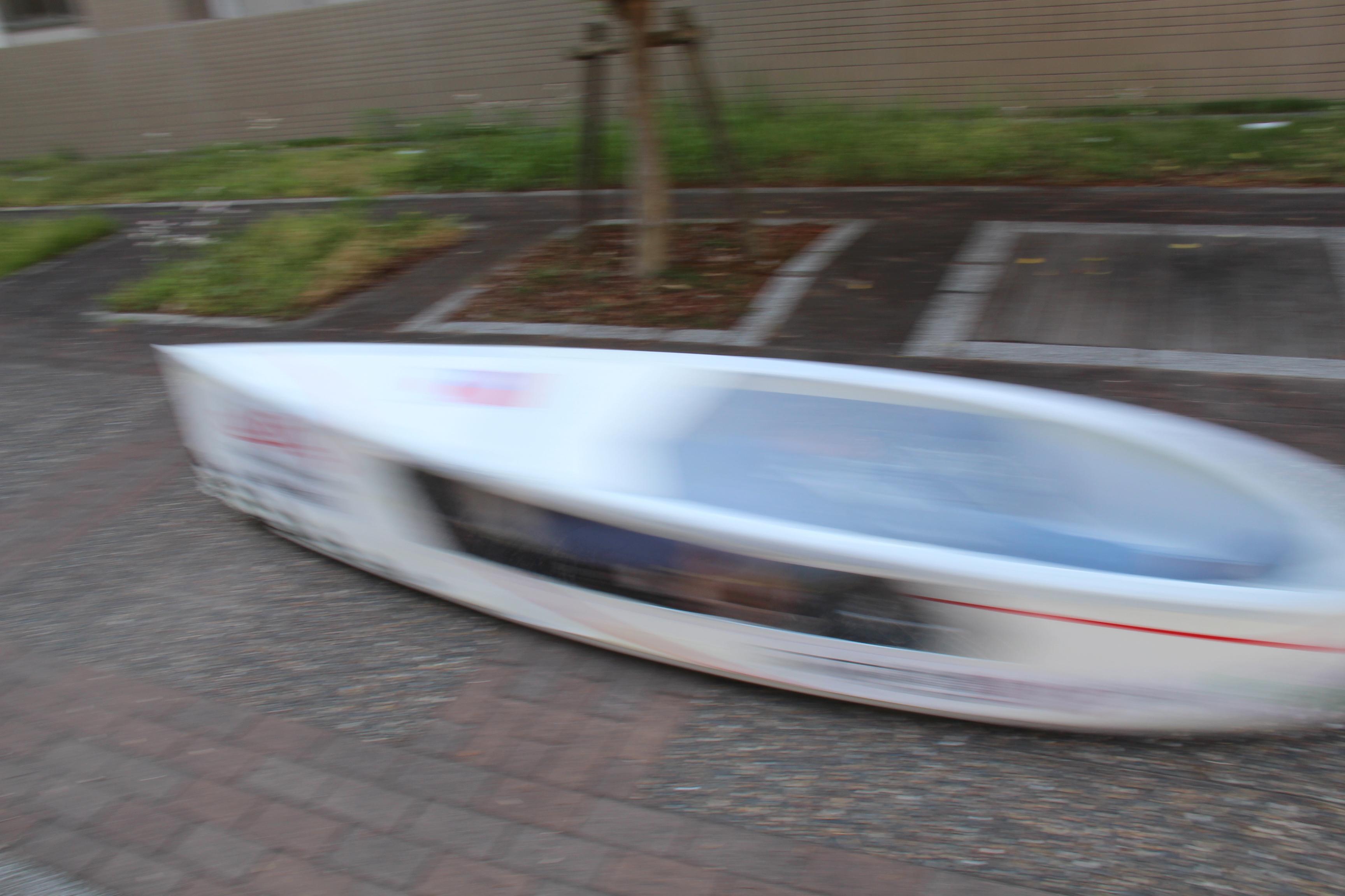 「Ene-1 GP SUZUKA」出場マシンの走行テスト