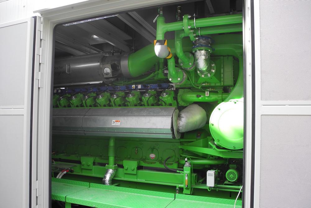 Gas cogeneration equipment