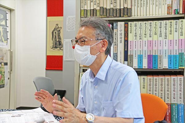 藤田人文学部長